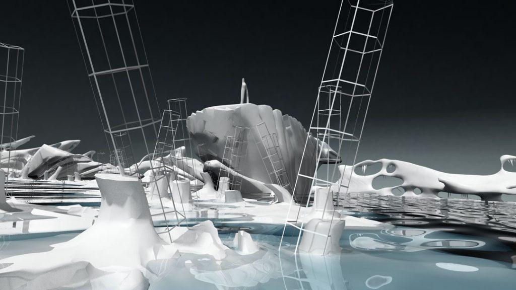 Rompere le acque, 2012, digital print on cotton paper, 150 x 85 cm