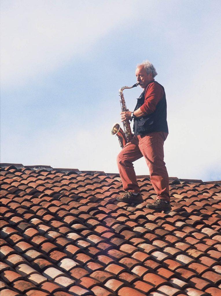 Il Sassofonista, 2004, lambda print, 70 x 50 cm