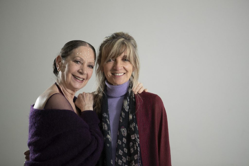 Giuliana Cunéaz con Aida Accolla