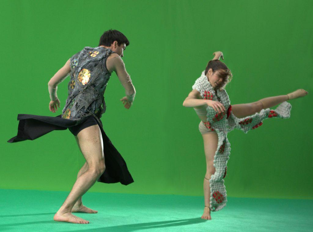 Luca Ciulla e Erika Ravot danzatori Kataklò