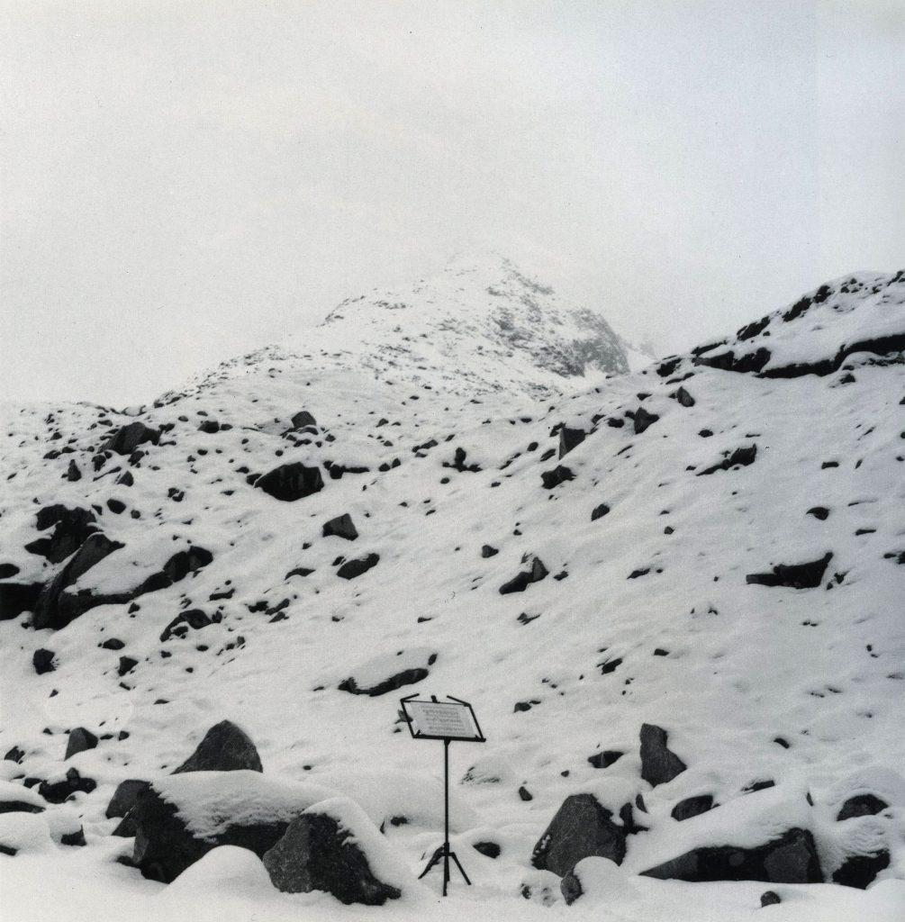 Il Silenzio delle Fate, 1990, Fata della Brenva, Courmayeur (foto Cesare Ballardini)