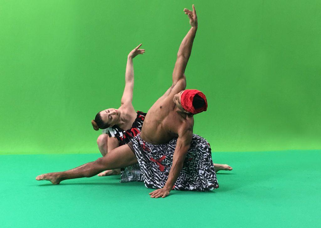 Giorgia-Magro-e-Luis-Colombo danzatori di Kataklò