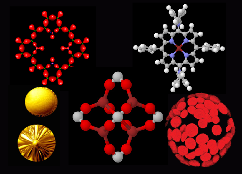 Studio di forme e simboli per la realizzazione di The God Particle
