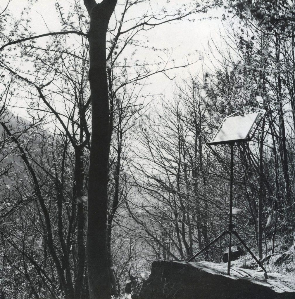 Il Silenzio delle Fate, 1990 Fata di Paluas, Saint-Vincent (foto Cesare Ballardini)