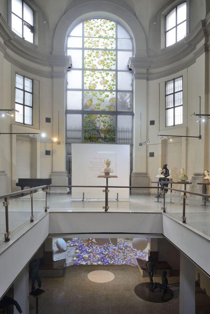 Giuliana Cunéaz. La grammatica delle forme, exhibition view, Studio Museo Francesco Messina, Milan, 2017