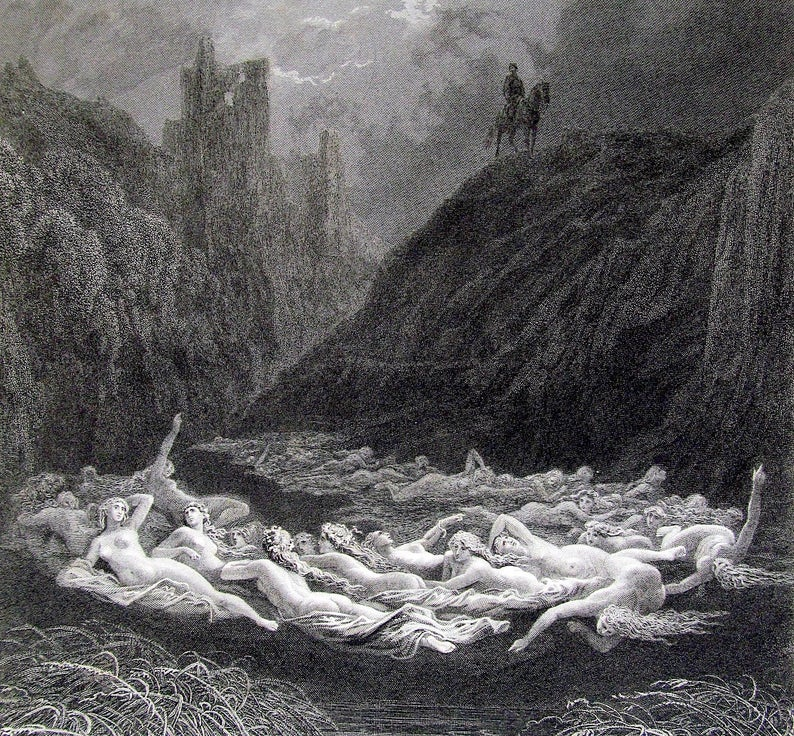 Gustave Doré, The Fairy Circle, 1870
