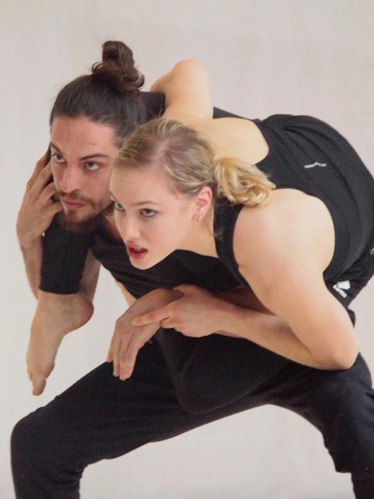Niccolò Catani e Alice Tagliaferri