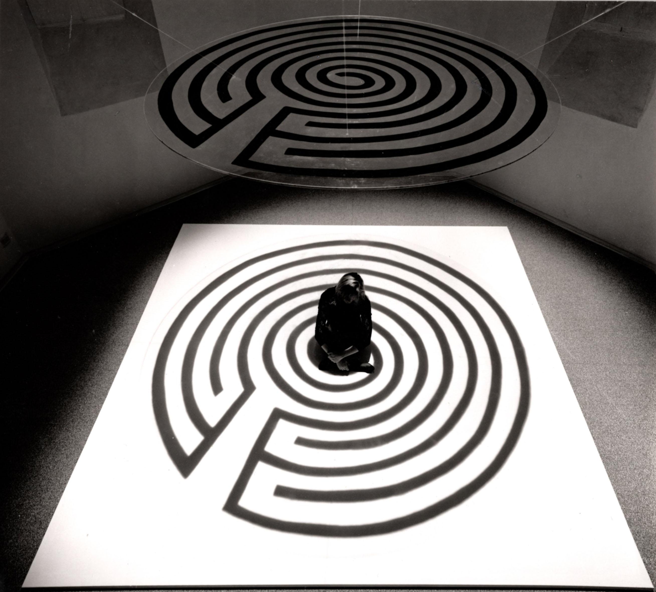 Labirinti, 1990, performance: Torre del Lebbroso, Aosta